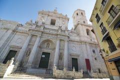 De kathedraal van Valladolid Stock Afbeeldingen