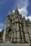 De Kathedraal van Vannes of St Peter Kathedraal, Vannes, Bretagne, Frankrijk Stock Fotografie