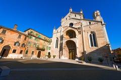 De Kathedraal van Verona - Veneto Italië royalty-vrije stock foto's