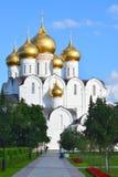 De Kathedraal van de veronderstelling in Yaroslavl stock fotografie