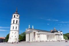 De kathedraal van Vilnius Royalty-vrije Stock Foto