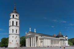 De kathedraal van Vilnius Royalty-vrije Stock Foto's