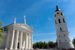 De kathedraal van Vilnius Stock Afbeelding