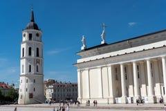 De kathedraal van Vilnius Royalty-vrije Stock Fotografie