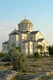 De Kathedraal van Vladimir in Chersonese Royalty-vrije Stock Foto's