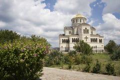 De Kathedraal van Vladimirsky Royalty-vrije Stock Afbeeldingen