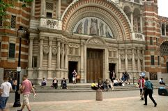 De Kathedraal van Westminster Royalty-vrije Stock Afbeeldingen