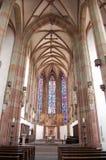 De Kathedraal van Wurzburg Stock Foto