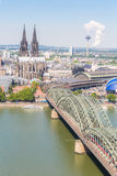 De Kathedraalantenne van Keulen Royalty-vrije Stock Foto's