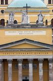 De Kathedraalbasiliek van Eger Stock Afbeelding