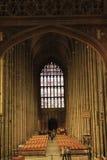 De Kathedraalbinnenland van Canterbury stock foto's