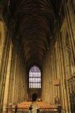 De Kathedraalbinnenland van Canterbury stock fotografie