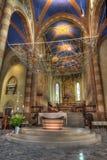 De kathedraalbinnenland van San Lorenzo. Stock Foto's