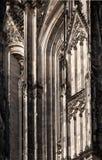 De Kathedraaldetail van Keulen Stock Fotografie