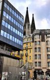 De Kathedraaldom van Keulen, Duitsland Stock Fotografie