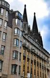 De Kathedraaldom van Keulen, Duitsland Stock Foto's