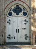 De kathedraalkerk van de deur stock foto's