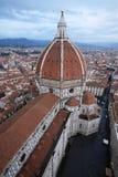 De kathedraalmening van Florence van de toren van Giotto stock foto