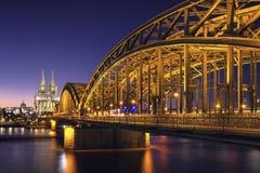 De Kathedraalmening van Keulen Royalty-vrije Stock Foto