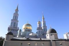 De Kathedraalmoskee van Moskou Royalty-vrije Stock Foto's