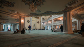 De Kathedraalmoskee van Moskou stock foto