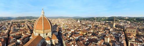 De kathedraalpanorama van Florence Royalty-vrije Stock Foto