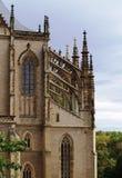 De kathedraalst. van Ghotic barbora Stock Foto