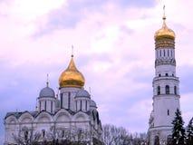 De Kathedralen Mei 2011 van Moskou het Kremlin Royalty-vrije Stock Foto