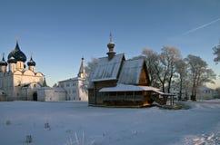 De Kathedralen van het Kremlin van Suzdal. Royalty-vrije Stock Afbeelding