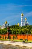 De kathedralen van Moskou het Kremlin Royalty-vrije Stock Foto