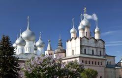 De kathedralen van Rostov het Kremlin Royalty-vrije Stock Fotografie