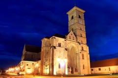 De Katholieke Kathedraal van Alba Iulia, Transsylvani Royalty-vrije Stock Fotografie