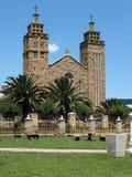 De Katholieke Kathedraal van Maseru Stock Afbeelding