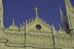 De katholieke kathedraal van Santa Ana Stock Afbeeldingen