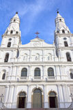 De katholieke kerk van Nossasenhora das Dores in Porto Alegre royalty-vrije stock foto's