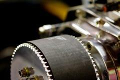 De katrol van de motor van een auto Stock Afbeeldingen
