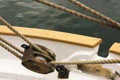 De katrol van het schip Stock Afbeeldingen