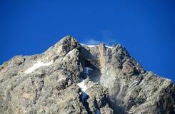 De Kaukasische pieken van de bergrots Stock Foto