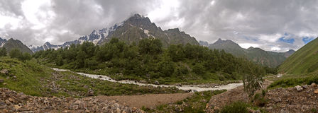 De Kaukasus Stock Afbeeldingen