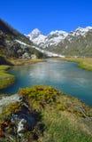 De Kaukasus in de lente Royalty-vrije Stock Fotografie