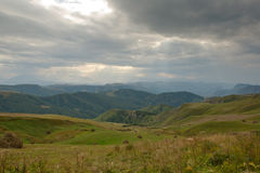 De Kaukasus Rusland, landschap Royalty-vrije Stock Foto
