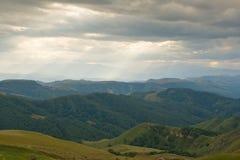 De Kaukasus Rusland, landschap Royalty-vrije Stock Afbeeldingen