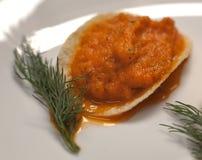 De Kaviaar van de aubergine stock foto