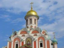 ¡ De Kazan Ð athedral em Moscou, Rússia fotos de stock