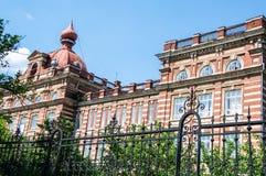 De Kazan federale universiteit in de stad van Yelabuga stock foto's