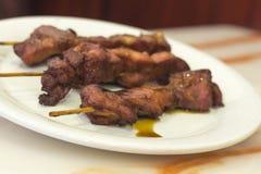 De Kebab van de Teriyakikip Royalty-vrije Stock Afbeeldingen