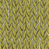 De keerkring verlaat sennit naadloos patroon voor maniertextiel, backgroung, verpakkend document, die antistressboeken kleuren Stock Fotografie