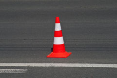 De kegel van de Straat van het verkeer Royalty-vrije Stock Afbeelding