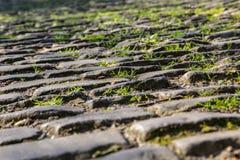 De Keiweg van Vlaanderen - Detail royalty-vrije stock afbeeldingen