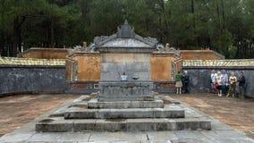 De Keizer begraaft in de complexe 4 mijlen van Turkije Duc Royal Tomb van Tint, Vietnam stock afbeeldingen